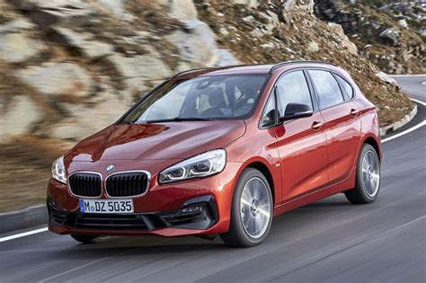 bmw  series active tourer  revealed car news