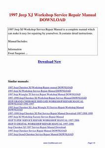 1997 Jeep Xj Workshop Service Repair Manual By Lan Huang