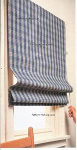 Pull curtains best home design 2018 for Pull up curtains how to make