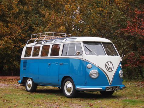 Volkswagen T1 Samba 21 Window 1966  Uk  Gie�da Klasyków