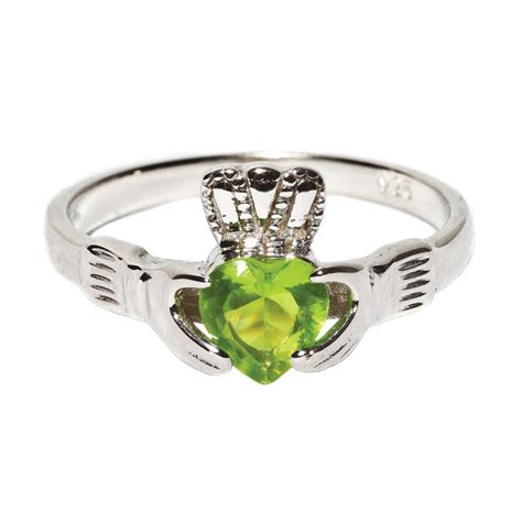 August Peridot Claddagh Birthstone Ring  Pixie Treasures. Ursula Rings. Ideal Wedding Engagement Rings. Cluster Harry Winston Engagement Rings. Symbolism Engagement Rings. Brown Topaz Rings. Aquarius Birthstone Engagement Rings. Adorable Engagement Rings. Mens Thin Wedding Rings