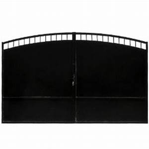 Doppelflügeltor 4 M : doppelfl geltor aus eisen belladone 4 x 1 95 m schwarz oogarden ~ Watch28wear.com Haus und Dekorationen