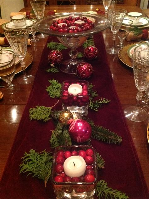 table setting for christmas elegant christmas table setting french gardener dishes