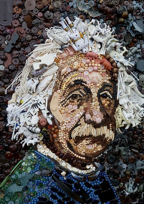 Artist Uses Hundreds Of Found Objects To Recreate Iconic