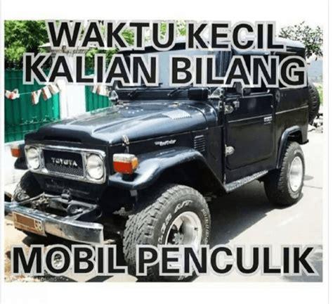 Meme Mobil - mobil penculik