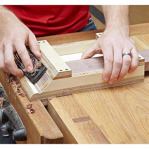 miter shooting board woodworking plan  wood magazine