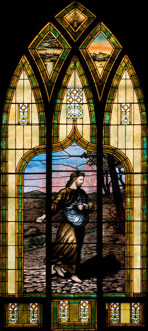 stained glass ls immanuel s windows