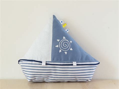 Sailing Boat Toy by Sailboat Sewing Pattern With Instant Download Sew Toy