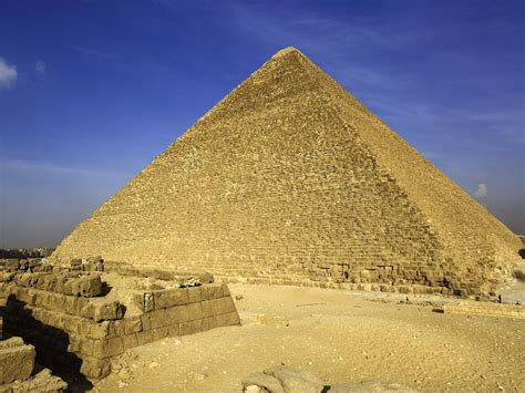 The Great Pyramid Of Giza Also Called The Pyramid Of