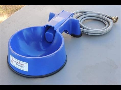 auto fill water bowl easy clean auto fill water bowl demonstration 7521