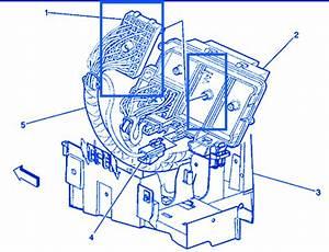 Gmc 2500 Seira 4 U00d74 6 0 1999 Underhood Electrical Circuit