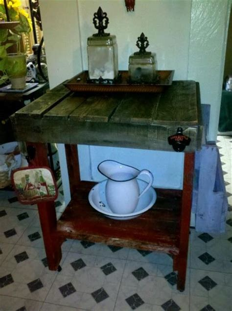 diy pallet kitchen cart pallets designs
