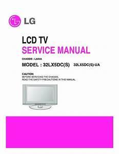 Lg 32lx5dcs