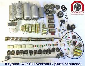 Revox B77 Full Overhaul Kit Electronics And Mechanical