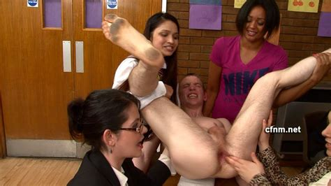 Student Christopher Is Being Examined Naked In Front Of