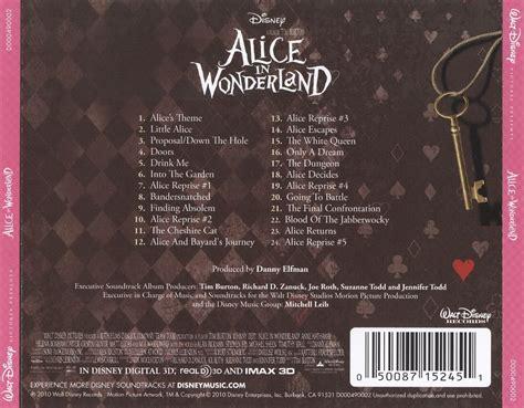 Alice In Wonderland Danny Elfman Songs Reviews