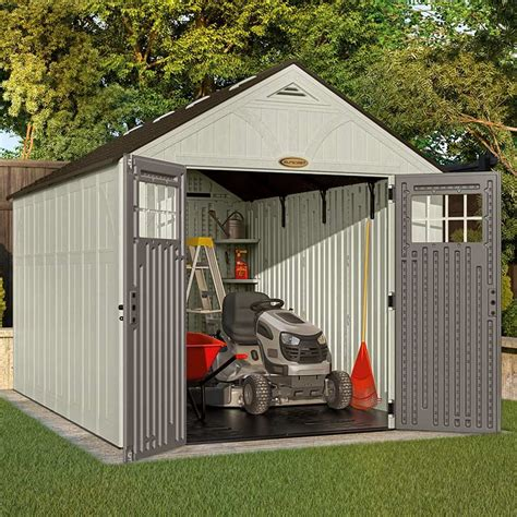 suncast tremont two apex shed w8ft x d13ft on sale fast