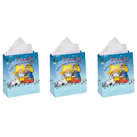 religious christmas gift bags for kids oriental trading