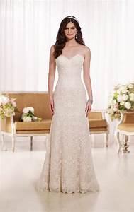 wedding dresses modified a line wedding dress essense With modified a line wedding dress