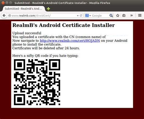 android certificate installer install burp ca certificate on android emulator
