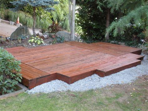 minimal deck patio modern patio seattle