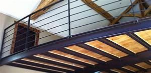 Mezzanine Metallique En Kit : fabrication de garde corps acier ou inox par la m tallerie ~ Premium-room.com Idées de Décoration