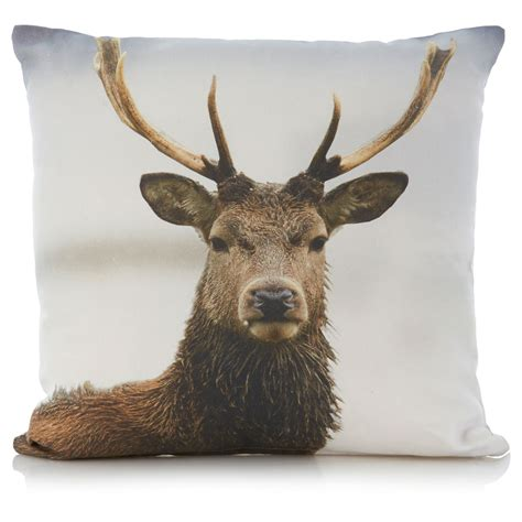Living Room Accessories Asda by George Home Stag Cushion Cushions Beanbags Throws