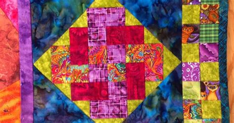 Cats With Knots Quilt And Beaded Celtic Knot