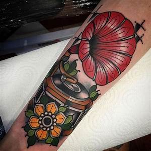 Gramophone Tattoo | www.pixshark.com - Images Galleries ...