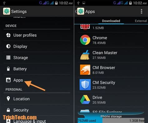 clear system cache android clearing app cache to fix app related problems in android