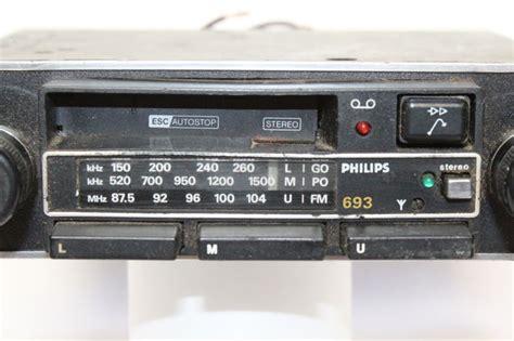 Philips Car Radio Cassette