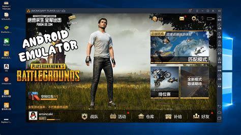 mobile pubg bilgisayardan oynamak android emulator