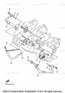 Yamaha Motorcycle 2008 Oem Parts Diagram For Oil Pump