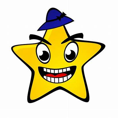 Night Clipart Starry Clip Smile Transparent Stars