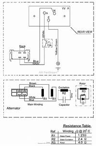 Briggs And Stratton Power Products 030352-0   New Zealand Parts Diagram