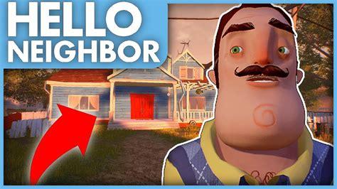 new update new house new secrets hello neighbor alpha 2 exclusive new update gameplay