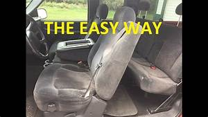 HOW TO REMOVE SEATS 1999 2006 Chevrolet Silverado Tahoe Suburban Yukon Sierra Escalade H2