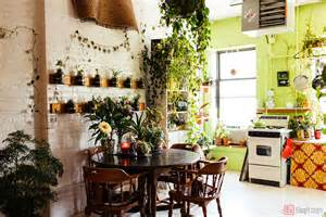 Interior Design Small Home Interior Design For Small House With Kithcen Filled With Plants As Decoration Artenzo