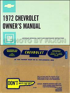 1972 Chevy Car Wiring Diagram Reprint Impala Caprice Bel