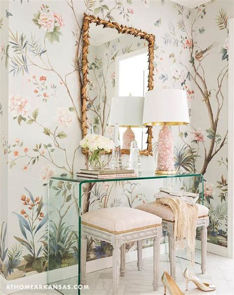 Pink Chinoiserie Fabric Design Ideas