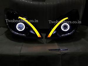 Fitting A New Light To Old Wiring Old I20 Projector Headlights With Eagle Eyes With Matrix