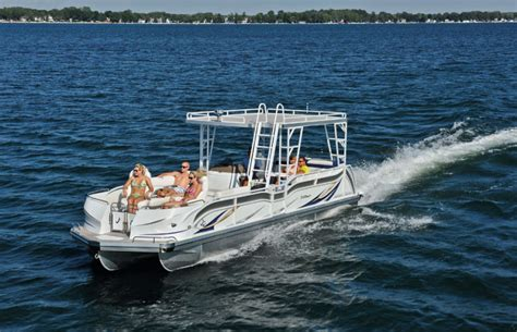Jc Tritoon Boat Covers by Research 2014 Jc Pontoon Boats Tritoon Classic 306 Io