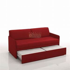 Canape convertible gigogne entierement dehoussable 2 for Canapé convertible 2 couchages