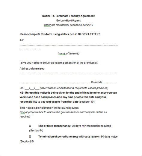 termination notice template 9 termination notice templates doc pdf excel free premium templates