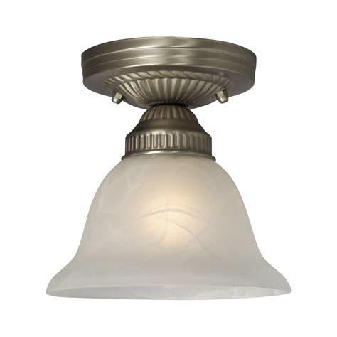 lowes semi flush mount ceiling light galaxy lighting 611870pt sarita semi flush ceiling light