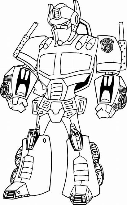 Coloring Steel Pages Robo Robot Printable Getcolorings