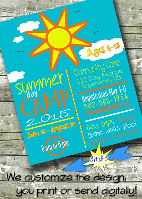 summer flyer templates free summer camp flyer template 12 download documents in pdf