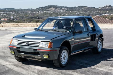 Peugeot 205 T16 For Sale by Unique Peugeot 205 T16 Pts Clubman Sells For 163 115k At
