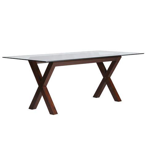 bennett dining table base mahogany brown pier 1 199 99