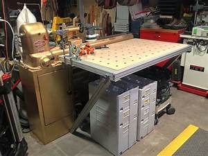 Modified MFT/3 table Woodworking Pinterest Woodworking